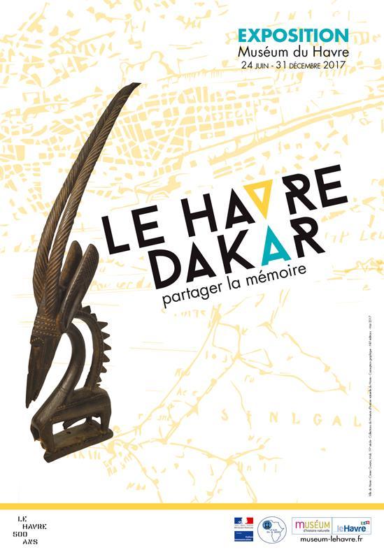 Affiche LE HAVRE DAKAR
